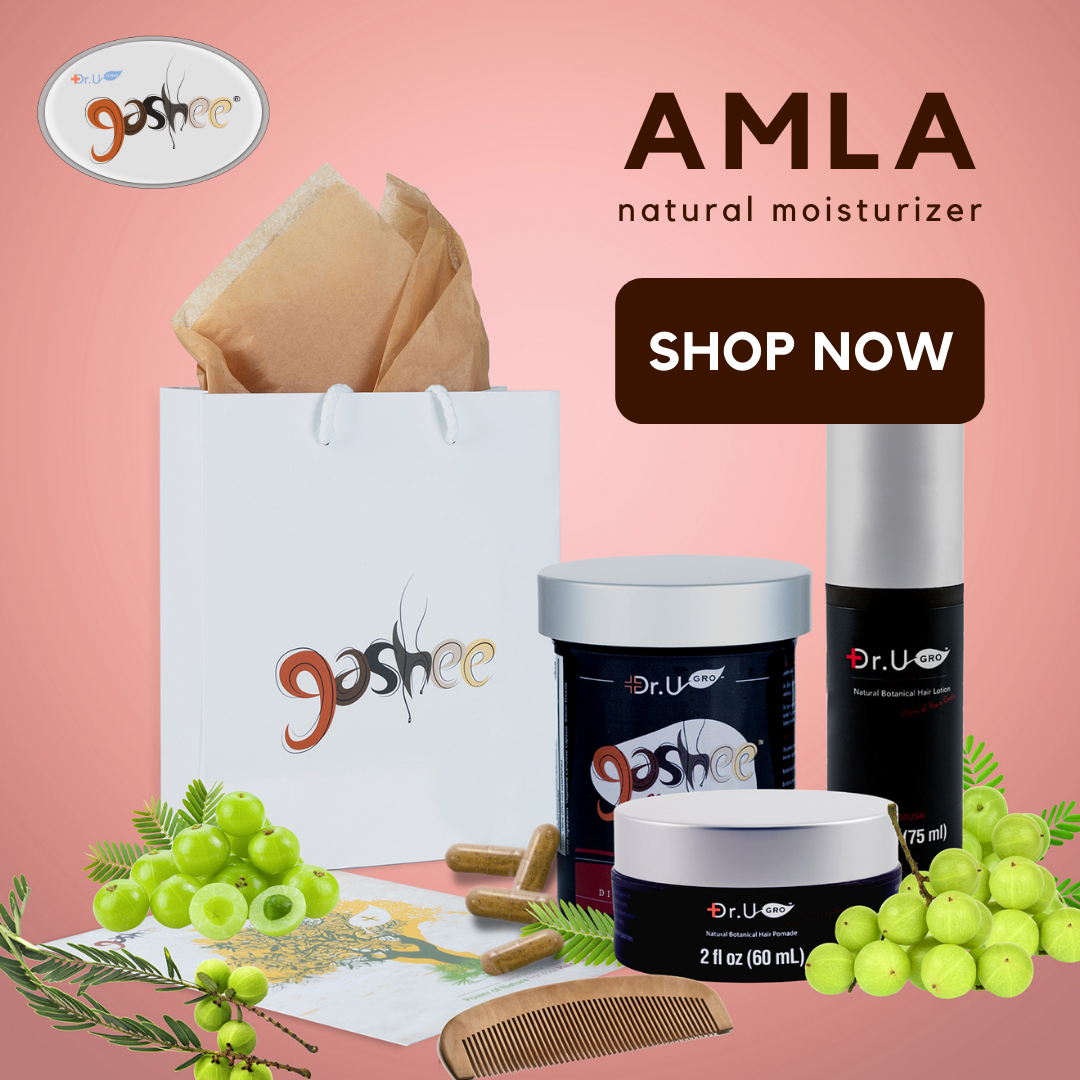 Amla is an ingredient found in all Gashee hair products.