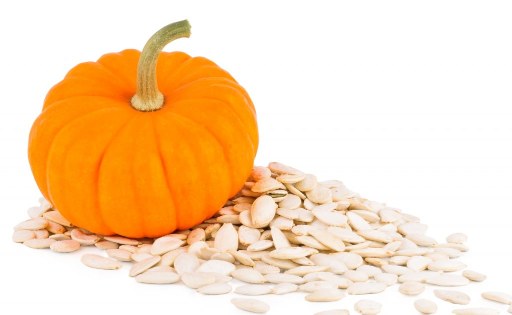 Pumpkin seeds may exhibit hair benefits due to DHT blocking effects