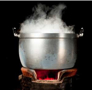 Steaming is another example of how ingredients are extracted from Natural sources.