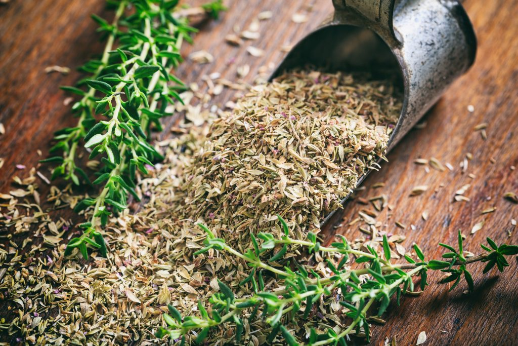 Scientists study the effect of thyme and thymol on hair