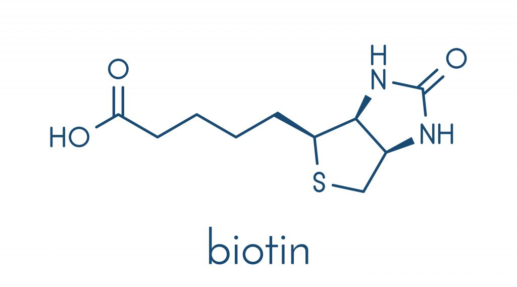 Scientists are studying the effects of biotin on hair