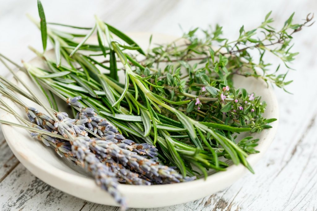 Rosemary oil for hair growth, along with the essential oils of thyme, lavender and cedarwood showed positive improvements for alopecia areata patients