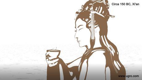 green tea for hair health