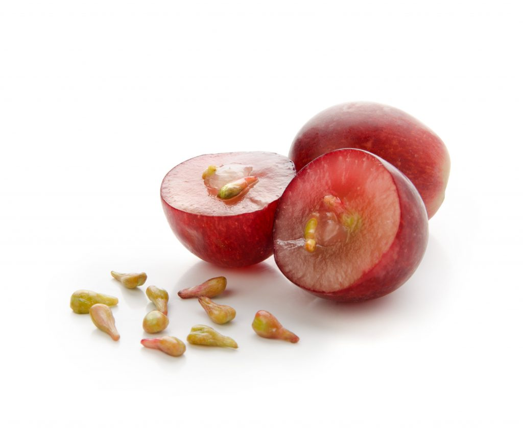 Grape seeds are a rich and abundant source of antioxidants