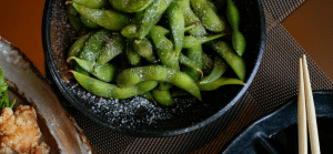 Soy beans contain unique isoflavones which may benefit our hair and other health areas.