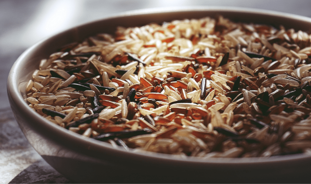 Brown rice is an excellent source of dietary selenium