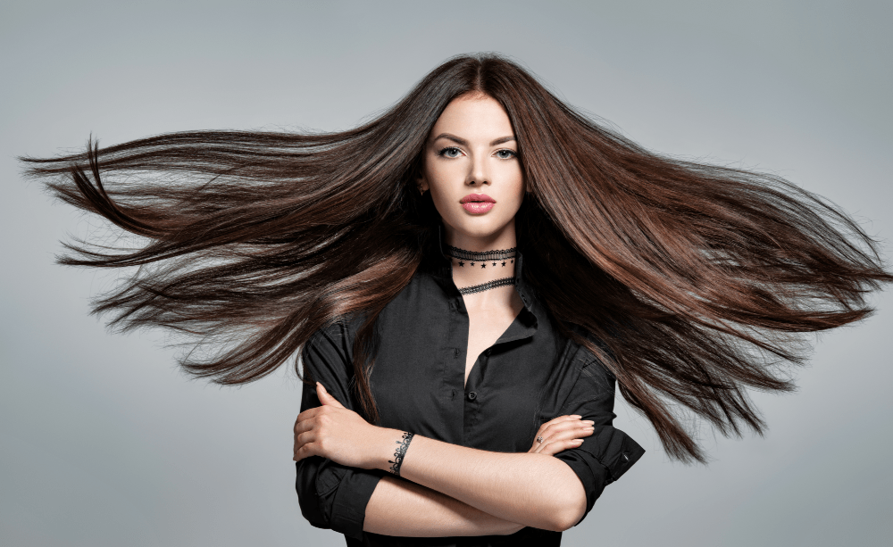 Bamboo extract may help improve the hair's thickness and growth