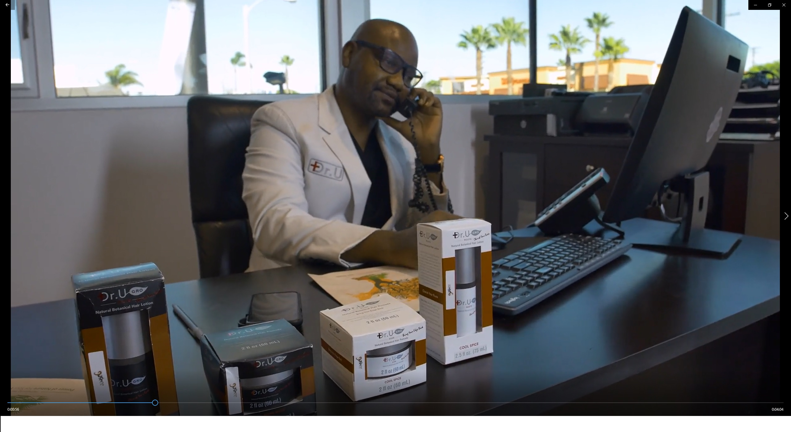 Dr Sanusi Umar MD (Dr U) Creator and formulator of Dr.UGro Gashee Botanical Hair Products and Supplements