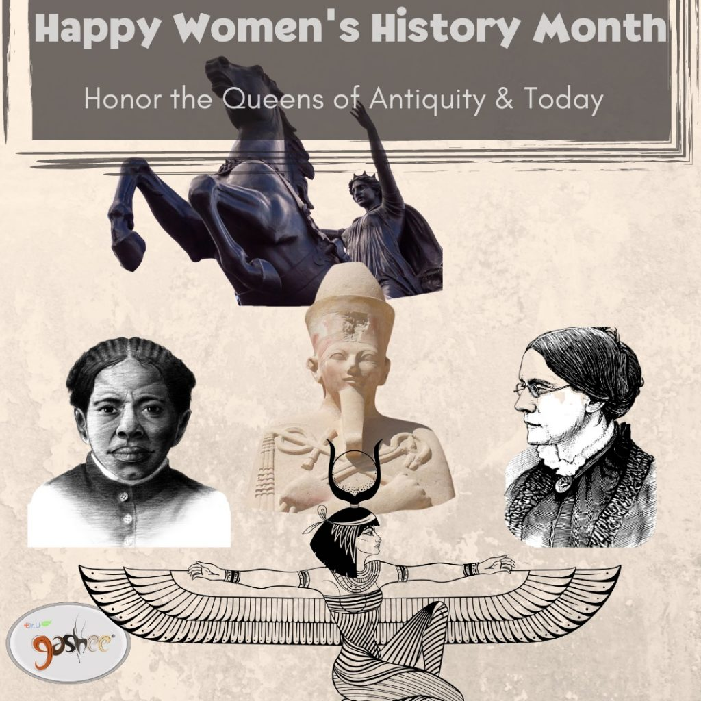 Women's History Month from Gashee