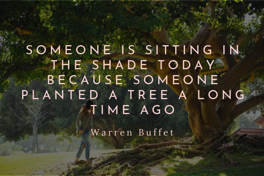 Women's History Month - Warren Buffet Quote