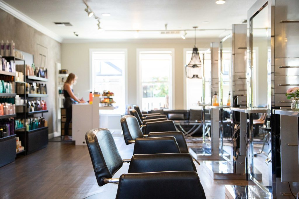 Keratine treatments are done in hair salons, often with potentially toxic chemicals.