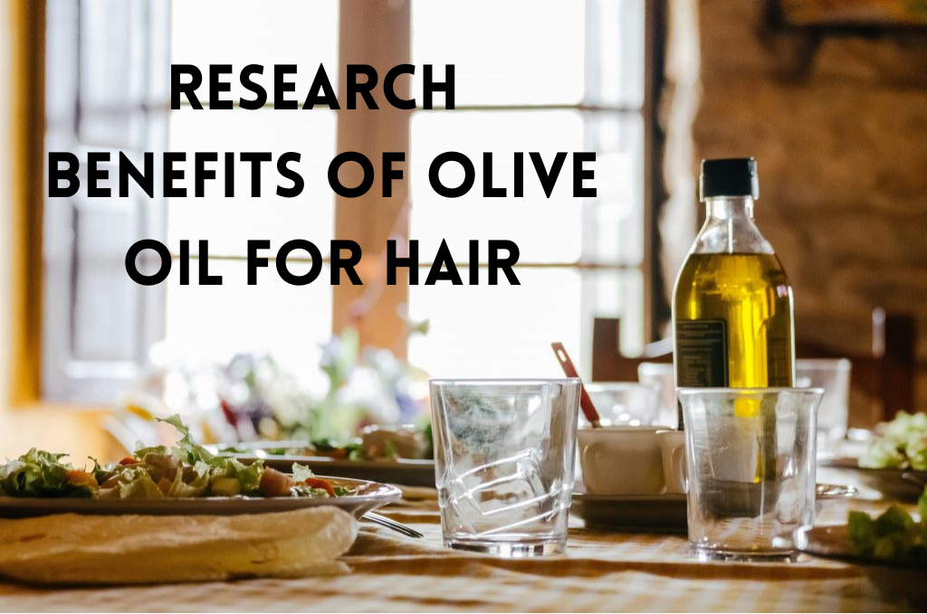 Olive oil and its benefits for hair growth and restoration.